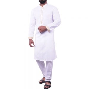Men's Slim Fit Casual Panjabi