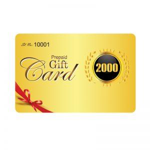 GIFT CARD-2000
